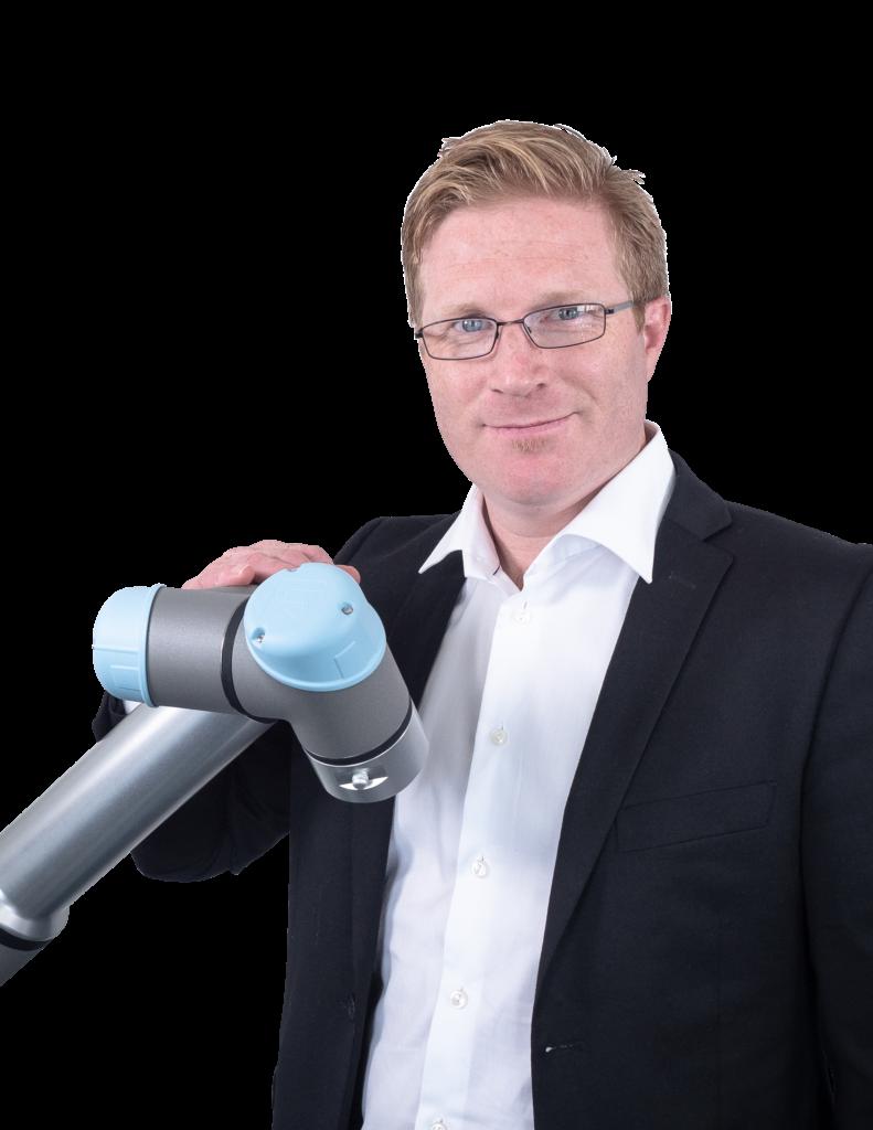 Lars Julius Skulstad fra Universal Robots avliver myter om cobots
