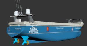 Det autonome skipet Yara Birkeland