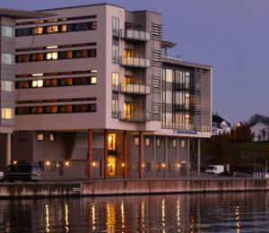 Sjøfartsdirektoratets lokaler ved Smedasundet i Haugesund