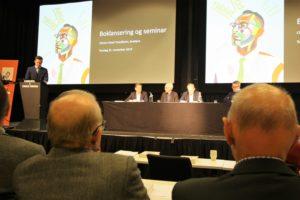 Boklanseringen ble rundet av med en paneldebatt om boken og Jens Glad Balchens virke